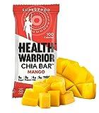 HEALTH WARRIOR Chia Bars, Mango, Gluten Free, 25g bars, 15 Count
