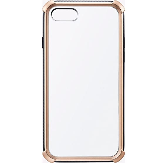 separation shoes e9963 dc56f Milk and Honey Gold Bumper Clear Case for iPhone 7