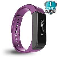 MEVOFIT Drive - Best Fitness Tracker Watch for Women   Smart Watch/Activity Tracker & Fitness Band   Large Wireless Waterproof Fitness Tracker Monitor   Fitness Band