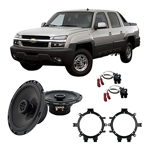 Fits Chevy Avalanche 2002-2006 Front Door Replacement HA-R5 Speakers New ()
