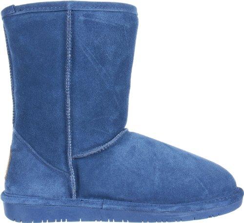 short Damen Blau Stiefel Bearpaw Emma wFf0qcv