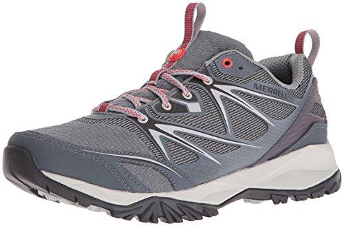 Merrell Mens Capra Bolt Air Hiking Shoe Grigio