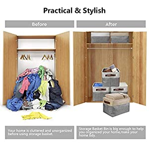 Awekris-Large-Storage-Basket-Bin-Set-3-Pack-Storage-Cube-Box-Foldable-Canvas-Fabric-Collapsible-Organizer-with-Handles-for-Home-Office-Closet-Toys-Clothes-Kids-Room-Nursery-Beige