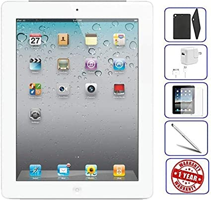 "Bundle MC769LL//A Apple iPad 2 9.7/"" Tablet 16GB Wi-Fi Black"