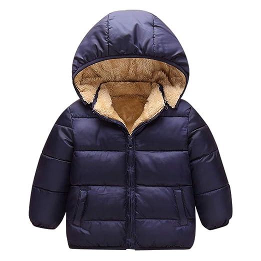 d1d5c8b04 Amazon.com: Baby Toddler Boy Girl Winter Clothes Hoodie Warm Coat 1 ...