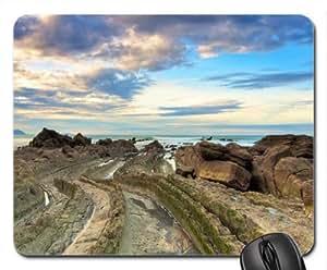 alligator like rocky seashore Mouse Pad, Mousepad (Beaches Mouse Pad)