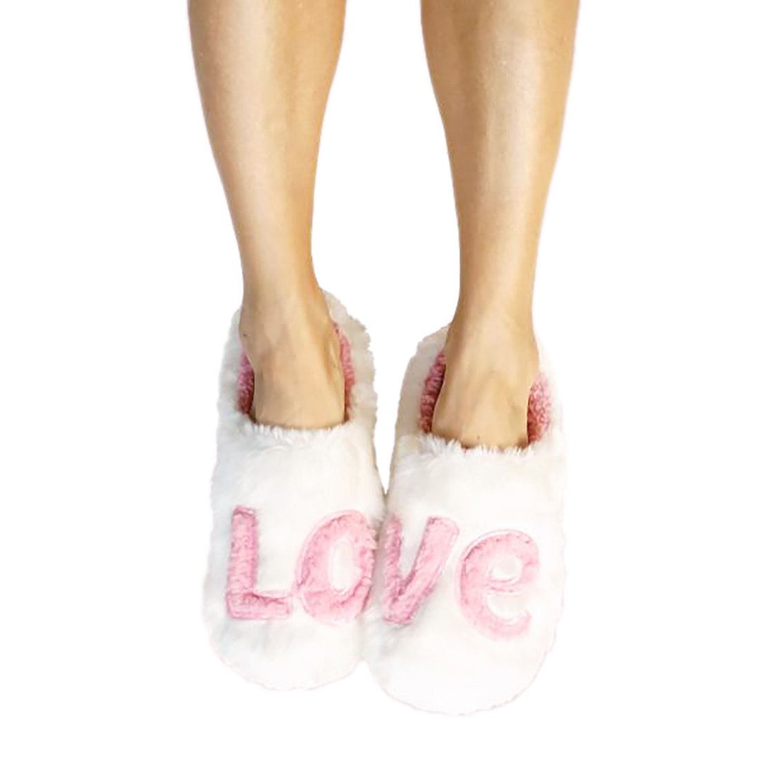 Faceplant Dreams Women's Cozy Love Memory Foam Slippers (Small (5-6))