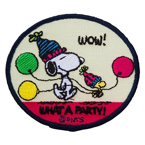 Minoda Snoopy vintage emblem Iron & seal amphibious party S02Y8905