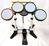 Nintendo Wii-U and Wii ROCK BAND Wireless Drum Set kit 2 3 4 Beatles guitar hero