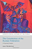 Constitution of the Russian Federation, Jane Henderson, 1841137847
