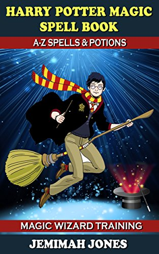 Harry Potter Magic Wizard Training Book with Spells, Hex