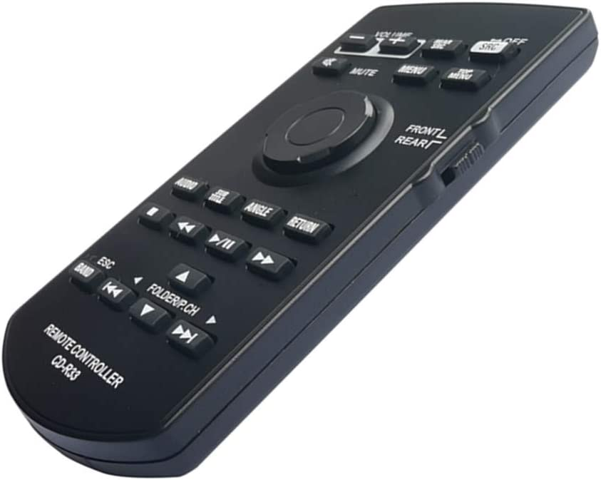 CD-R33 Remote Control Universal CXE5117 with Battery for Pioneer AVIC-5200NEX AVIC-6100NEX AVIC-6200NEX AVIC-7100NEX AVIC-8100NEX AVIC-8200NEX AVH-X8850BT AVH-X8890BT Car Audio AV Receiver