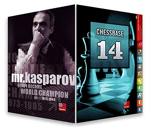 CHESSBASE 14 - MEGA Edition & Mr. Kasparov: How I Became World Champion Bundle Chess Software by ChessBase