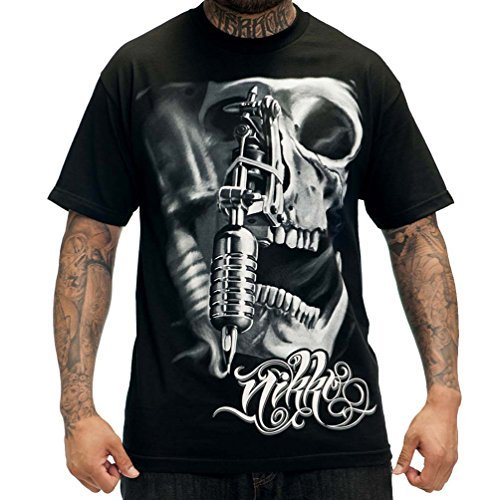Sullen Nikko Black Tee (2X-Large) (Men Clothing Fatal)