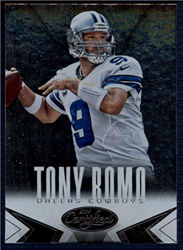(Football NFL 2014 Panini Certified #26 Tony Romo #26 NM+ Cowboys)