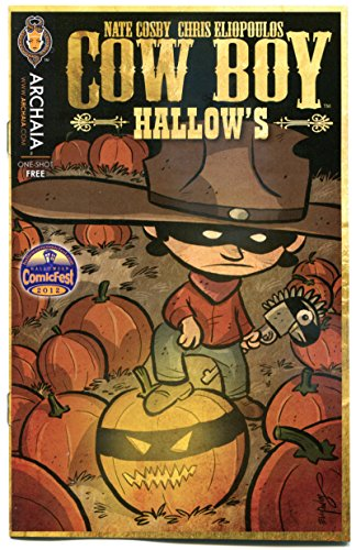 COW BOY HALLOW'S #1 Halloween ashcan, Promo, 2012, NM, more Halloween in store