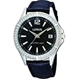 Lorus RS911A Analog Stainless Steel Swarovski Crystals Watch