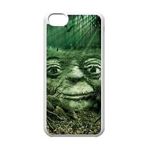 Star Wars Yoda iPhone 5c Cell Phone Case White yyfabd-346385