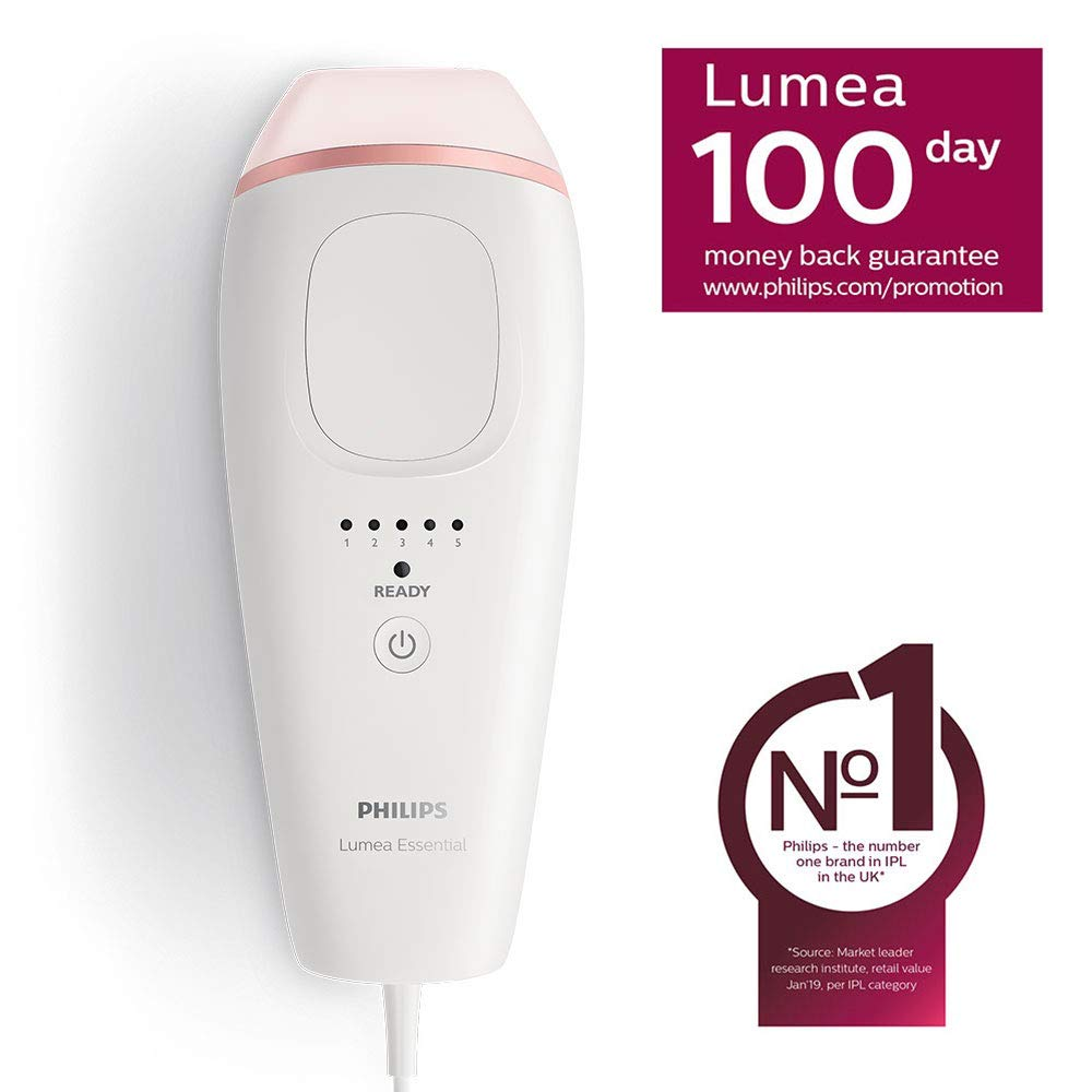 Philips Lumea Essential Ipl Hair Removal Device For Body Bri861