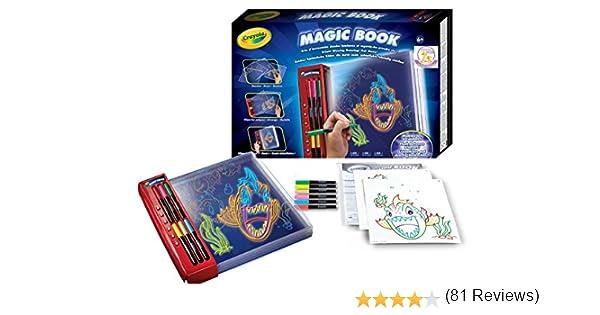 Crayola Magic Book Book - kids glow books (Book, Niño/niña, Rojo, Caja) , color/modelo surtido: Amazon.es: Juguetes y juegos