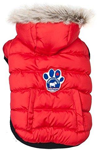 670748f64330 Amazon.com   Canada Pooch North Pole Parka, Red, Size 20   Pet Coats ...