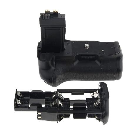 perfk Battery Grip Power Pack para Canon EOS 550d 600d 650d 700d ...