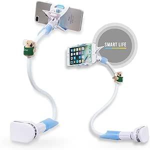 keyming teléfono celular multiusos flexible largo brazo soporte ...