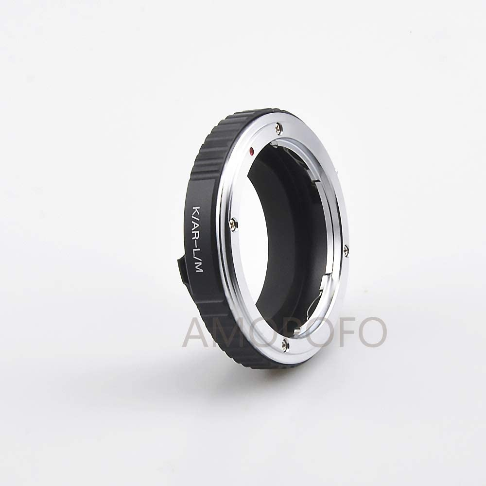 Compatible TECHART LM-EA 7 Adapter AR to LM Lens Adapter Compatible with for Konica AR Mount Lens to /& for Leica M L//M M9 M8 M7 M6 M5