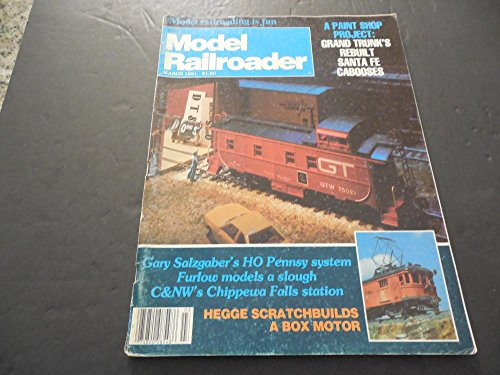 - Model Railroader Mar 1981, Paint Shop Project, Santa Fee Cabooses