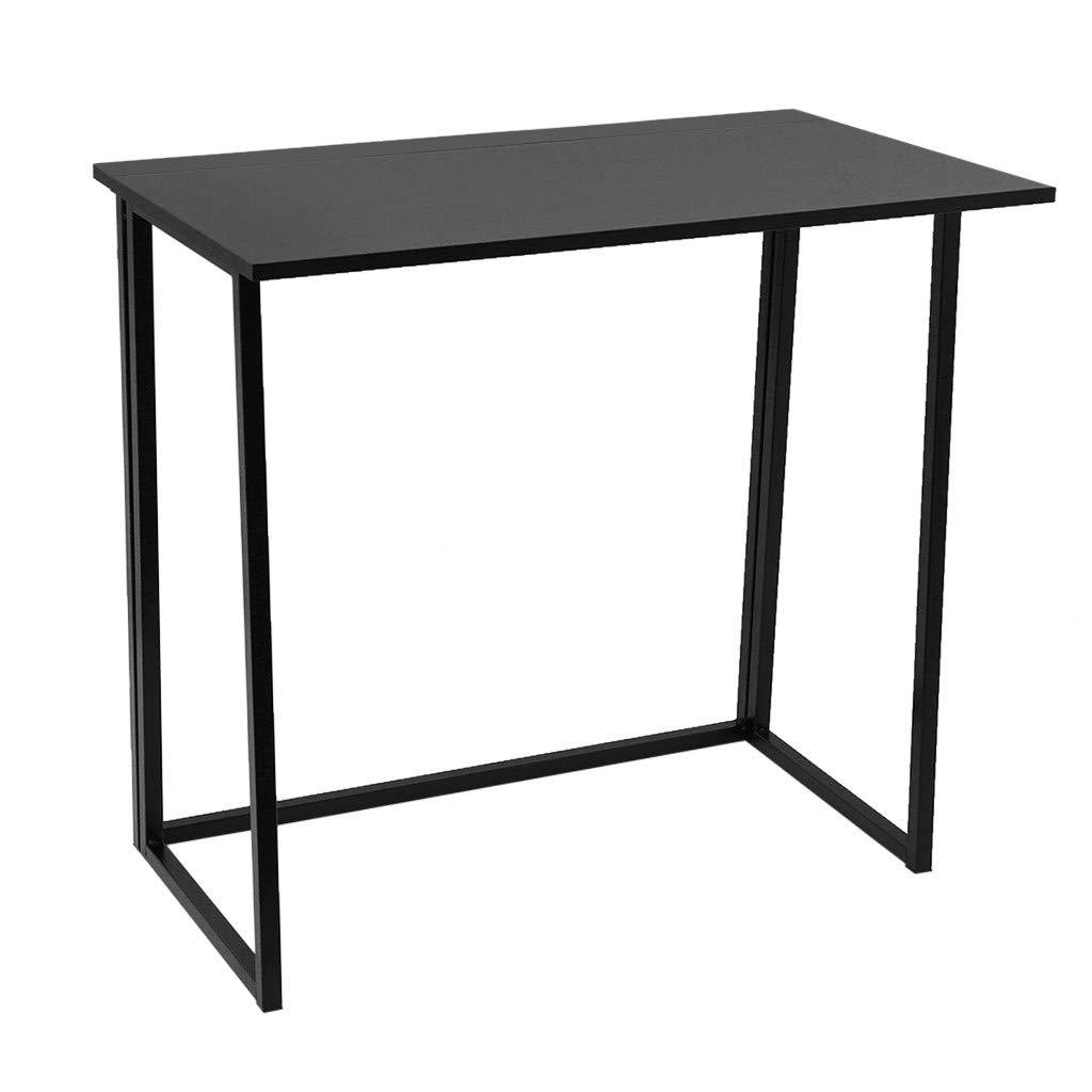 Clearance Sale! Folding Computer Desk,Study Desk Standing Desk Simple Table PC Laptop Table Desk Lift Laptop Computer Desk Portable Writing Desk for Home Office School (Black) by Cobcob