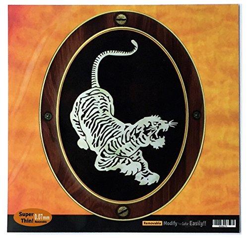 Inlay Sticker Decal For Guitar Grateful Dead Jerry Garcias   Tiger