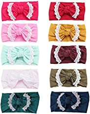 10 Pack Baby Girl Headbands Baby Headbands Baby Bows Child Hair Accessories