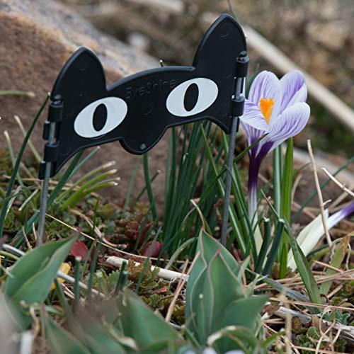 (EyeShine WideEye Decorative Garden Sculpture Yard Art Bulb Marker Outdoor)