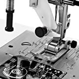 """Janome HD3000 Heavy Duty Sewing Machine w/Hard Case + 1/4"""" Seam Foot + Blind Hem Foot + Overedge Foot + Rolled Hem Foot + Zipper Foot + Buttonhole Foot + Leather and Universal Needles"""