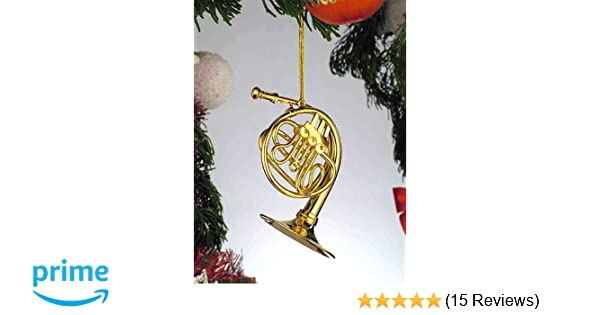 Amazon.com: Gold Music French Horn Musical Instrument Ornament NEW: Home &  Kitchen - Amazon.com: Gold Music French Horn Musical Instrument Ornament NEW