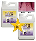 Leather CPR (Value 2PK - 32oz Bottles) - Irritant-Free Leather Cleaner & Conditioner for Your Home – Works Wonders on Furniture, Jackets, Shoes, Auto & More