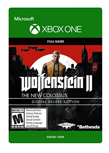 Price comparison product image Wolfenstein II: The New Colossus Deluxe Edition - Xbox One [Digital Code]