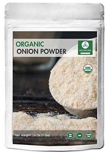 Naturevibe Botanicals - Organic Ground Onion Powder (1 pound) by Naturevibe Botanicals