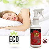 lights out bed bug spray - Lights Out Bed Bug Killer Spray All Natural Organic Formula Eco-Friendly, 32 oz.