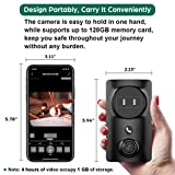 Security Camera Wireless, Monja Portable Outlet