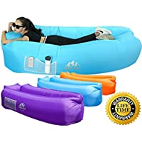 WEKAPO Inflatable Lounger Air Sofa Hammock-Portable,Water...