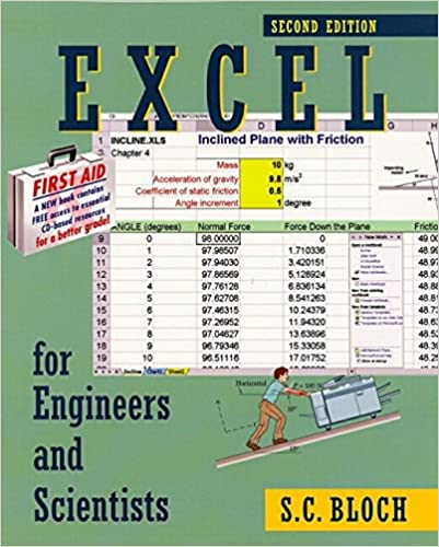 Amazon com: Excel for Engineers and Scientists, Second