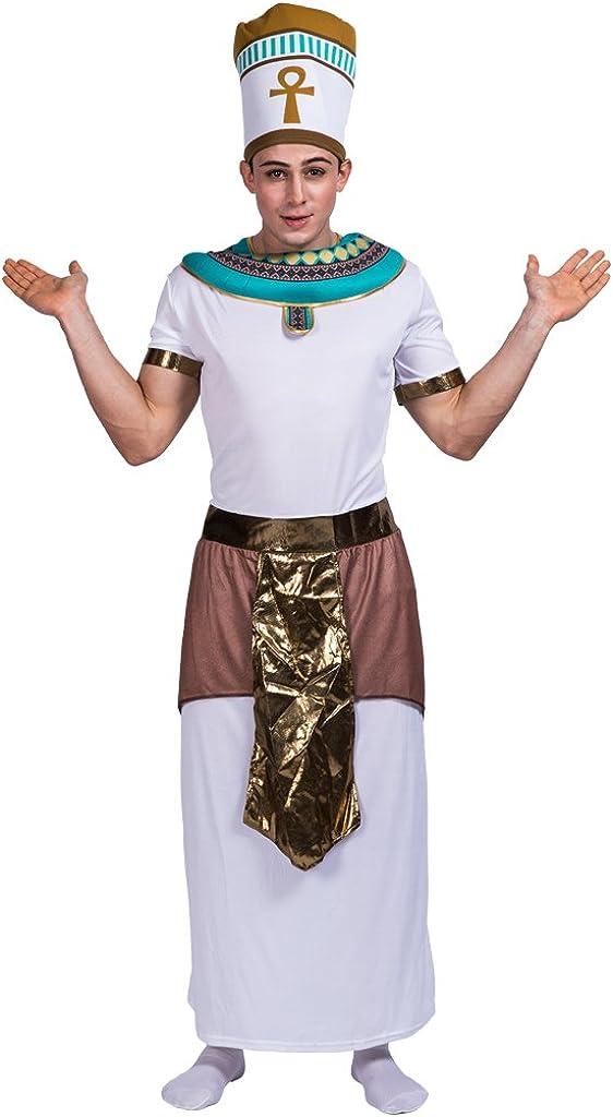 EraSpooky Disfraz de Rey Egipcio del Rey Faraón: Amazon.es: Ropa y ...