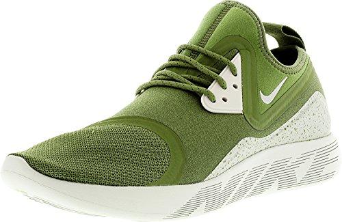 Nike Lunarcharge Essential Schuhe Sneaker (EU 43 US 9.5 UK 8.5, Palm Green/Light Bone-Volt)