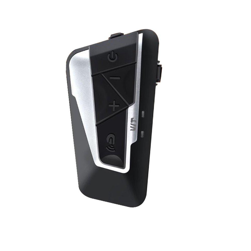 Moto Intercom Bluetooth 4.1 Auricular Auricular Communication Systems Kit, prend en Carga 8 Banda de Selección, Manos Libres Llamada telefónica con Mic para Moto Scooter de esquí prend en Carga 8 Banda de Selección Fodsports