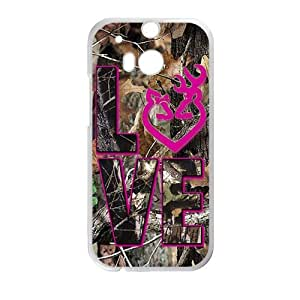 Autumn branch pink love Cell Phone Case for HTC One M8