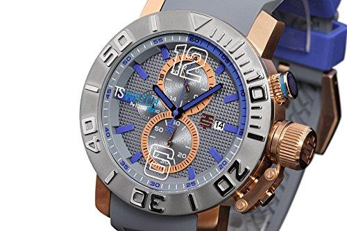 TechnoSport Men's 50mm Quartz Chronograph Silicone Strap Watch - TS-230-7