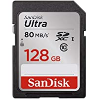 SanDisk 128GB Ultra UHS-I Class 10 SDXC Memory Card,...