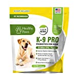 PRO5 Probiotic For Dogs- By Healthy Paws- 6oz Powder Container- Enhanced Formula With Prebiotics- Digestive System Activation- Overall Wellness- Immune System- Yeast Infections- Odorless &Tasteless