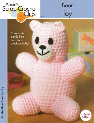 Bear Toy - One Crochet Pattern - Annie's Scrap Crochet Club - SCC38 PDF